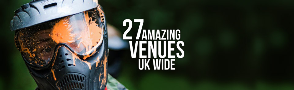 The Uks best paintball venues