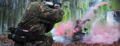 Paintball in Devon
