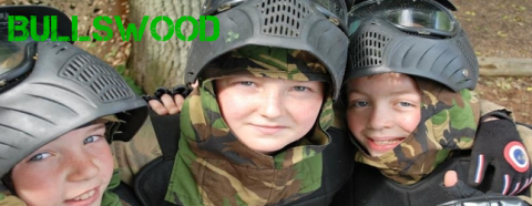 Kids paintballing in kent