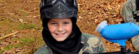 kids paintball exeter