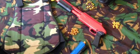 Mini Paintball We Now Cater For 8 Year old Children and Above.