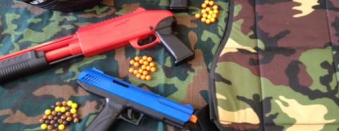 Paintball Leeds for 8 year old children