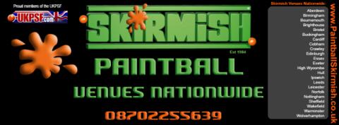 Skirmish Paintball Games