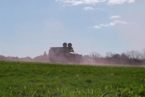 Kursk tank battle at paintball kent