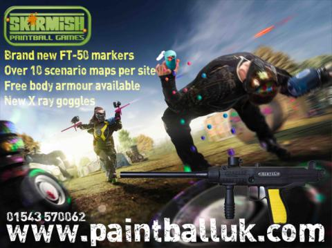 New Paintball Markers for 2015