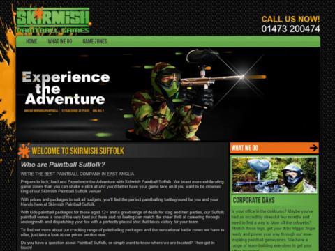 New Skirmish Suffolk Website Coming Soon! | Skirmish Paintball