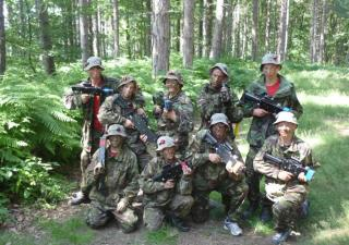 outdoor laser tag wakefield