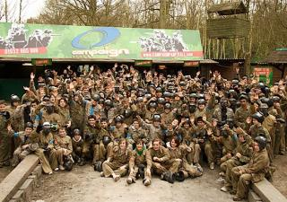 group paintball