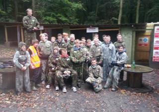 Paintballing Day Out in Brighouse