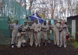 paintball edinburgh