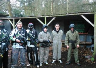 wolverhampton stag paintball