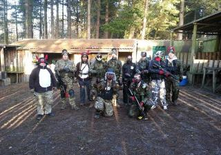 paintball wakefield stag do