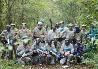 paintballing buckingham