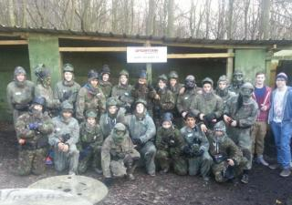 brighouse stag do paintball
