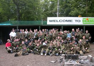 paintballing edinburgh