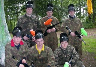 stag do paintball scotland