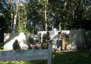 edinburgh stag do paintball