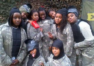 leicester paintball games
