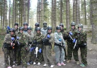 wakefield paintball game