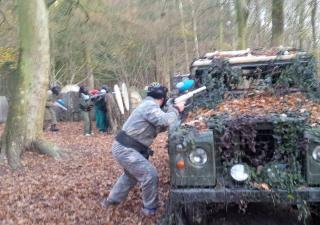 Paintball Redditch