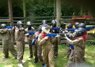 kids paintball