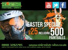 Easter Paintball Special