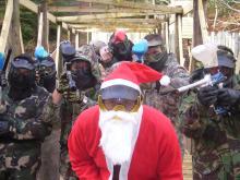 Paintball Skirmish Christmas Party